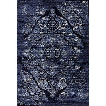 Persian Rugs 4620 Distressed Navy 5x7 Area Rug Large Carpet Size 5 2 Inch X 7 2 Inch Blue Area Rugs Rugs Large Rugs