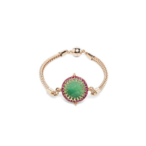 I love the Lydell NYC Embellished Stone Bracelet from LittleBlackBag
