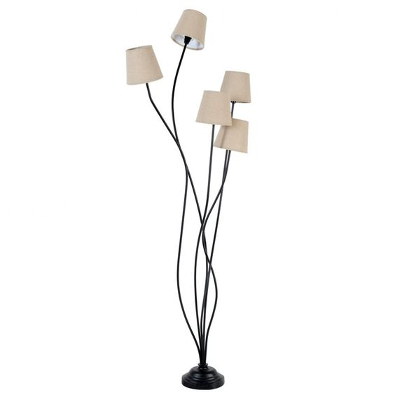 lampadaires salons and lampes on pinterest. Black Bedroom Furniture Sets. Home Design Ideas