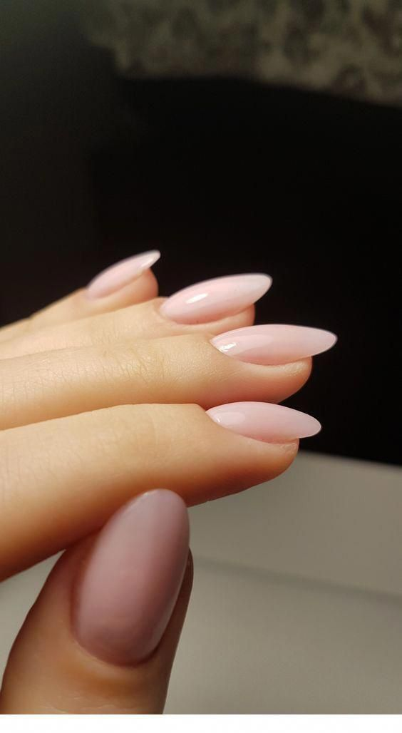 23 Excellent Acrylic Nails Full Cover In 2020 Pink Nails Oval Nails Pretty Nails