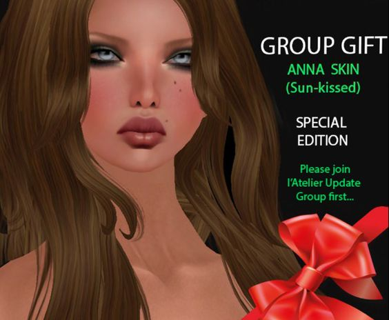 Free Sunkissed Anna Skin Free Anna sunkissed skin, special edition for the new year 2016. Join the update group to receive this gift, you will not ..