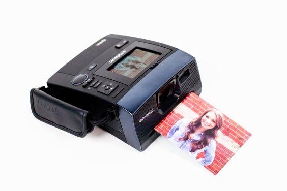 Polaroid Z340 Instant Camera - A 14 megapixel digital camera that also delivers instant prints! ($299.00, http://photojojo.com/store)