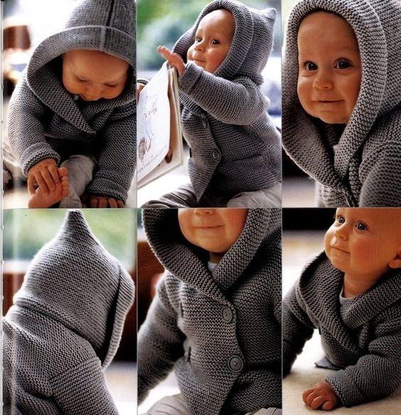 Duffel-coat for baby