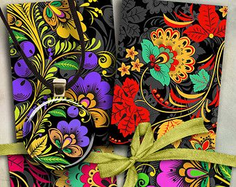 JEWELRY HOLDERS No10 Gift Tags Digital Collage Sheet by ArtCult