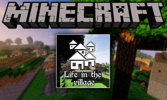Life In The Village Modpacks 1 12 2 Tale Of Your Kingdom Do You Wanna Relax After Hard Work Sit On The Bench In The Woods Near Your Cozy Hut Watching At P