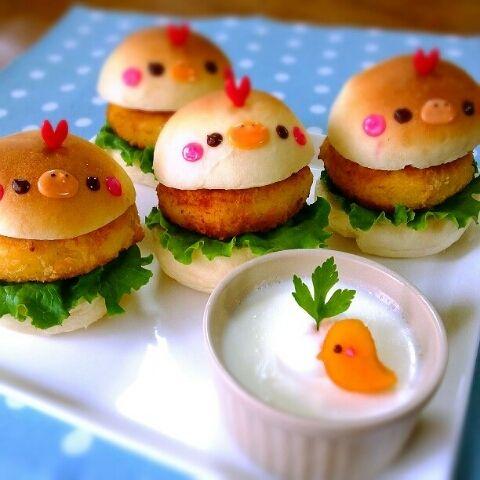 キャラクターサンドイッチ パン