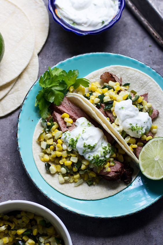 tacos tacos quesadillas and more tacos steak tacos cooking sour cream ...