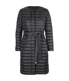 View the Collarless Reversible Puffer Coat