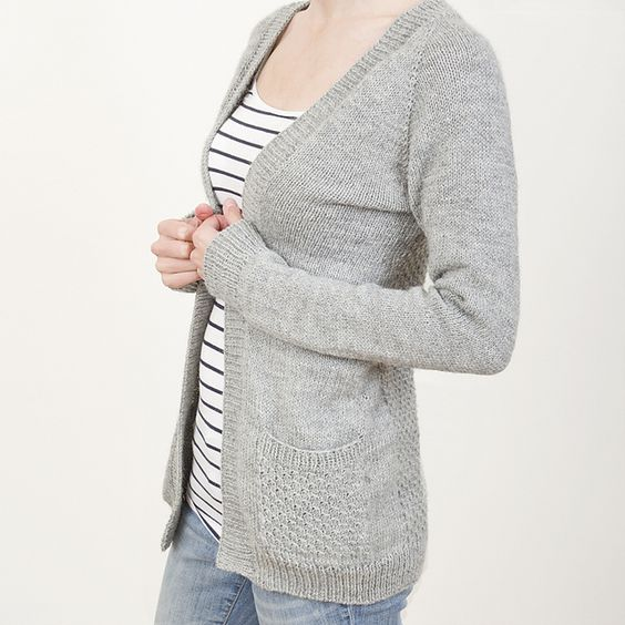 Knitting Pattern For One Piece Cardigan : Greystone pattern by Sarah Cooke Twists, Patterns and Knits