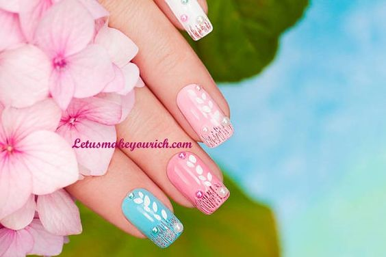 There is so much beauty and elegance in a great set of nails. –Tammy Taylor