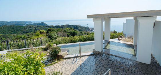 Open-air bath | Susami Onsen Hotel Belvedere [Official]