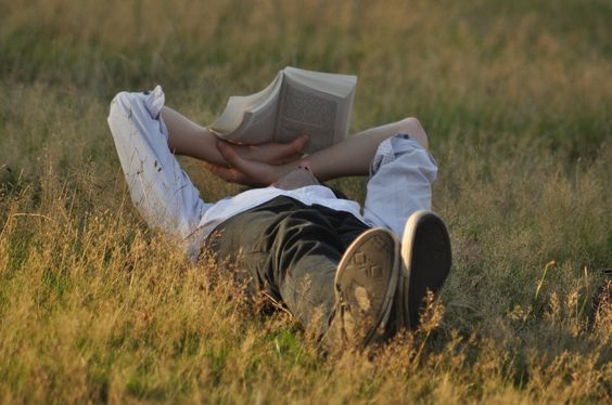 A man with a book makes him more attractive