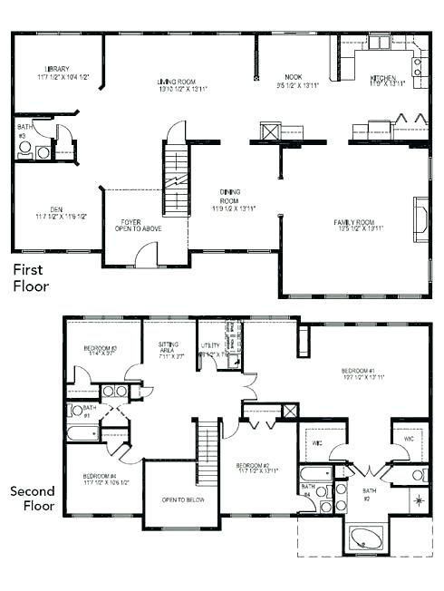 Bathroom House Plans 4 5 Bedroom House Plans Simple House Design Ideas Exterior Absolutely Plan 4 Bedroom House Plans Bedroom House Plans 6 Bedroom House Plans