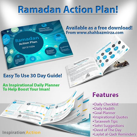 Ramadan Action Plan 2013 Free Download #faith #belief #religion - free action plans
