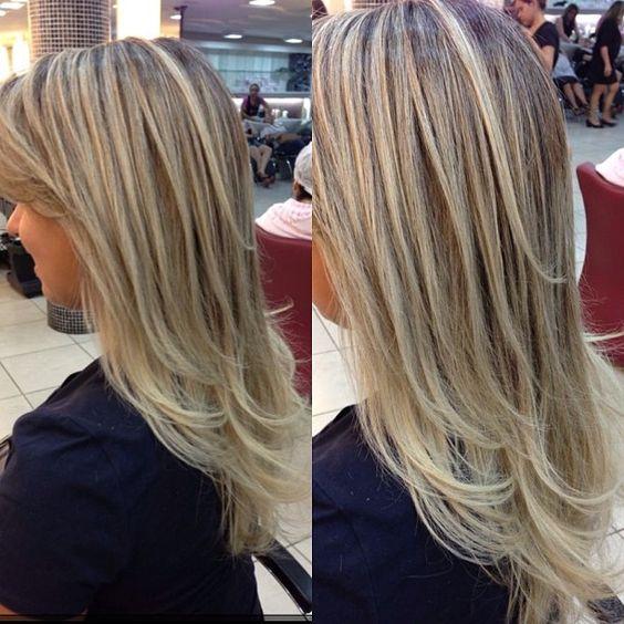 """@mulher_cheirosa's photo: """"Quem não ama fios loiríssimos e super sedosos? Esse cabelo foi feito pelos profissionais da Mulher Cheirosa! #love #hair #blond #MCdesejo #mulhercheirosa"""""""