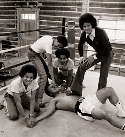 Muhammad Ali and the J5