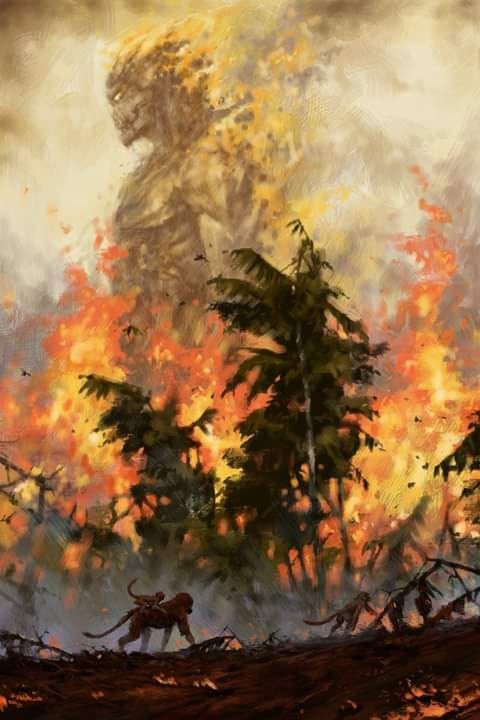 The Fire Demon Of The Rainforests 2019 Jakub Rozalski In 2019