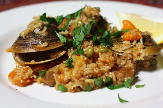 clam paella and more paella clams chorizo paella recipe mark bittman ...