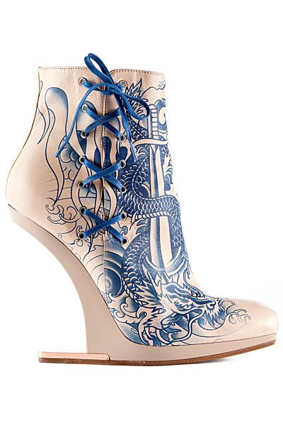 Jean Paul Gaultier Booties