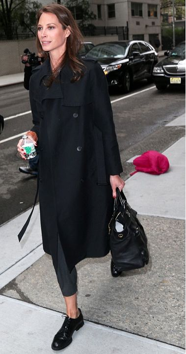 Christy Turlington, 45, is the epitome of beauty