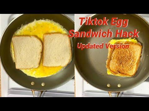 Breakfast Sandwich To Go Tiktok Breakfast Sandwich Hack Youtube In 2021 Sandwich Hacks Sandwiches Breakfast