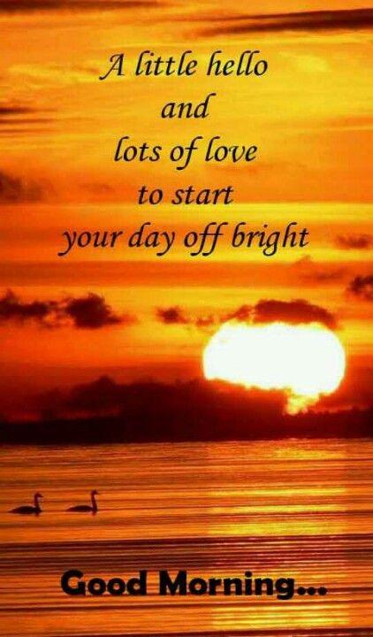 ♡ Good Morning