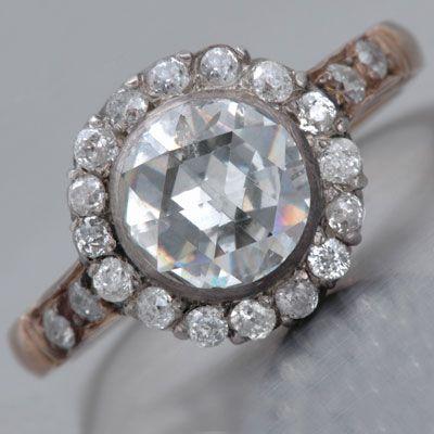 Georgian Rose-cut Diamond Ring