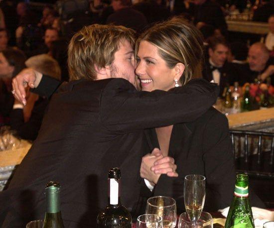 Supportive Husband Brad Pitt Jennifer Aniston Brad Pitt And Jennifer Brad And Jen