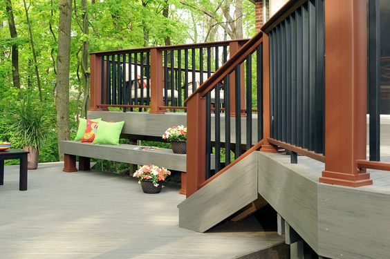 Timbertech decking earthwood evolutions terrain collection Terrain decking