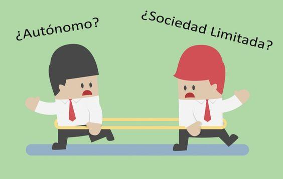 ¿Es mejor ser autónomo o crear una sociedad limitada?