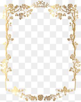 Gold Lace Beira Floral Moldura De Flores Borda Para Convite
