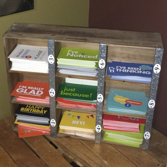Best idea I've seen in a while! At @marinersjhm they have a stack of pre-designed post cards and a drop box in an amazing youth leader lounge. This makes it SO easy for leaders to write a quick note to a student (students LOVE getting stuff in the mail btw). Cards are printed with things …