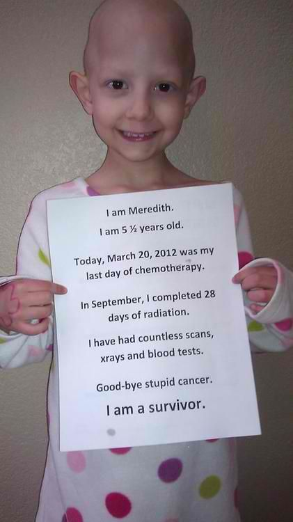Meredith is a survivor.