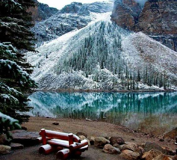 Lago Agnes, Parque Nacional de Banff, Canadá
