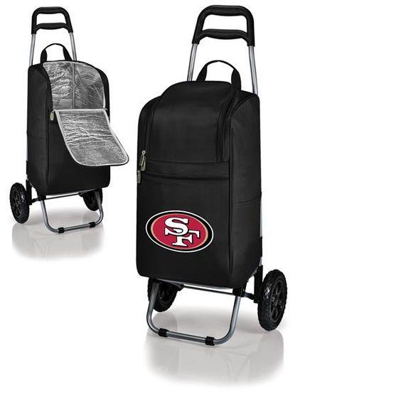 nice San Francisco 49ers  Digital Print Cart Cooler Black Check more at http://sportsthemedparty.com/product/san-francisco-49ers-digital-print-cart-cooler-black/