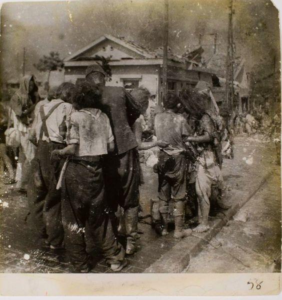 Matsushige Yoshitohiro: Hiroshima 1945 - ten minutes after the bomb