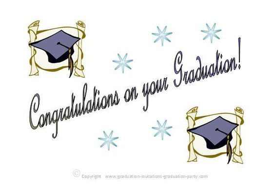 Elegant design free printable graduation cards