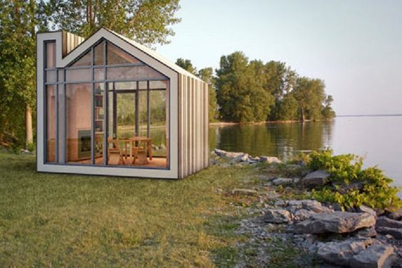 Beautiful prefab shipping container homes backyard houses pinterest prefab shipping - Beautiful shipping container homes ...