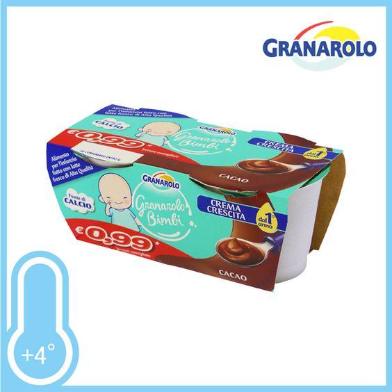 Delicato yogurt per i vostri bambini. Gusto Cacao. Conf. 2xgr.100 a solo € 0,59!!!