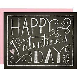 Valentine's Chalkboard Art: