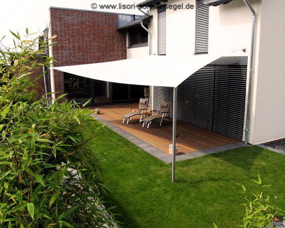 Überdachte Terrasse - 50 Top-Ideen für Terrassenüberdachung - vorteile sonnensegel terrasse