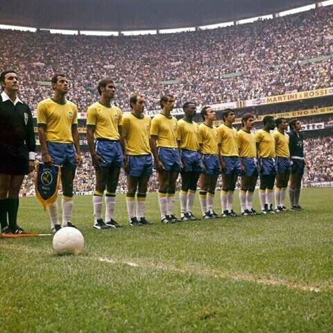 #WC1970: #Brazil at stadium #Azteca