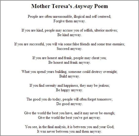 History Of Mother Teresa