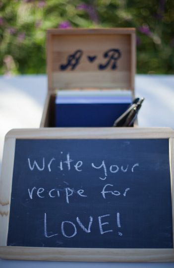 Write your recipe for love!
