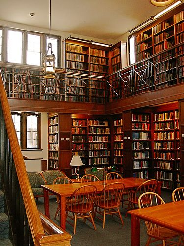 Reed College Library.  Or is it Hogwarts?