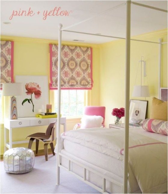 Decorating With Yellow Girl Room Bedroom Design Yellow Bedroom