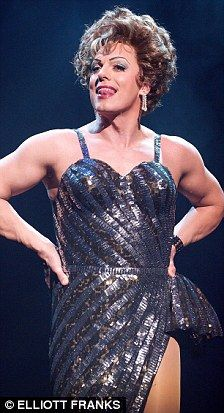 """That moment when you look at this picture and think """"wow, John Barrowman does not look bad in drag."""""""