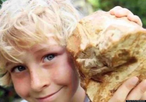 Boy Finds Whale Vomit Worth $63,000  Charlie Naysmith, 8, found this hunk while walking on a beach in Great Britain. He thought it was a rock, but it turned out to be a piece of whale vomit worth $63,000.