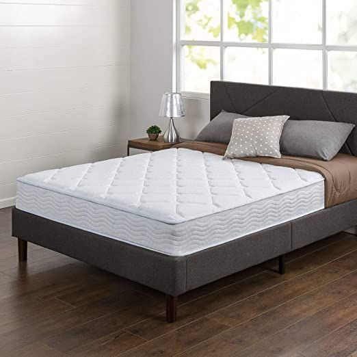 Innovative 8 Inch Hybrid Spring And Gel Memory Foam Mattress For Firm Support For A Better Ni In 2020 Queen Size Memory Foam Mattress Gel Memory Foam Mattress Mattress