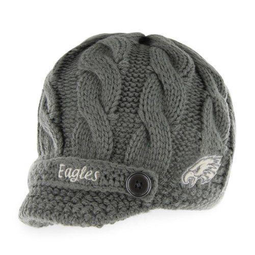 Philadelphia Eagles Women S 47 Brand Skybox Soft Visor Knit Hat By 47 Brand 25 99 Embroide Philadelphia Eagles Women Philadelphia Eagles Hats Knitted Hats